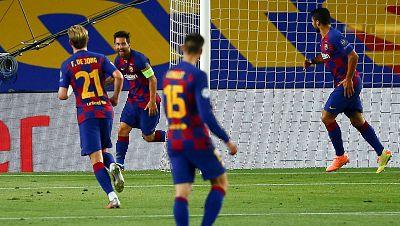 El Barça sonríe en Europa