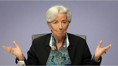 Lagarde mantiene las tasas de interés en el mínimo histórico del 0 % y los estímulos monetarios