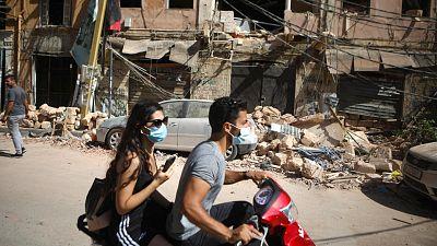"""Beirut, una ciudad destrozada: """"La devastación es increíble, parece una zona de guerra"""""""