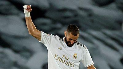 Primera liga madridista post Cristiano: Benzema toma el mando