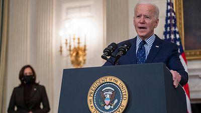 Biden pide al Congreso de EE.UU. que prohíba las armas de asalto tras el tiroteo en Colorado