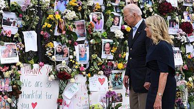 Biden anuncia que su Gobierno asumirá los gastos del derrumbe del edificio en Miami