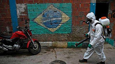 Brasil supera los 1,5 millones de casos y los 63.000 muertos con coronavirus