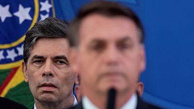Brasil pierde a su segundo ministro de Salud en un mes por desacuerdos con Bolsonaro en la gestión del coronavirus