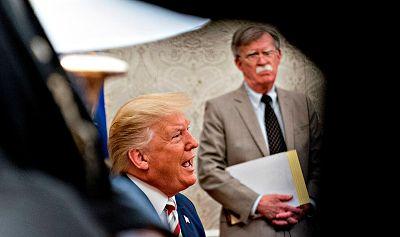 Caos, electoralismo y un riesgo para EE.UU: el demoledor retrato de Trump según su exasesor Bolton