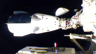 La cápsula de SpaceX se acopla con éxito a la Estación Espacial Internacional