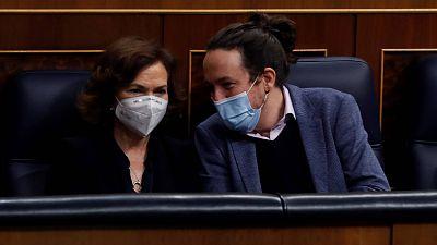 """Calvo critica la """"incoherencia"""" de Unidas Podemos respecto a las leyes de igualdad y sus """"formas"""""""