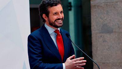 """Casado califica los indultos de """"golpe de gracia"""" a la legalidad y acusa a Sánchez de """"blindar"""" un segundo 'procés'"""