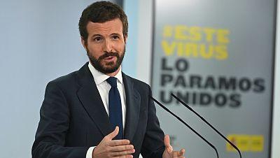 """Casado cree que la rectificación del Gobierno con la regla de gasto se debe a la """"rebelión de los alcaldes del PP"""""""