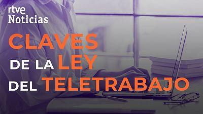 Las claves de la ley del teletrabajo: voluntario, al menos dos días a la semana y el empresario asumirá los gastos