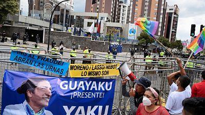 El CNE acepta el recuento de tan solo 31 actas electorales de las más de 27.000 solicitadas por Yaku Pérez