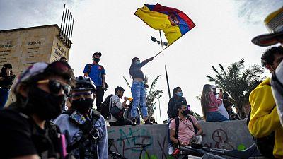 Colombia reclama diálogo político en el noveno día de manifestaciones