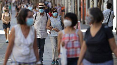 Los contagios en España se cuadruplicaron en el último mes
