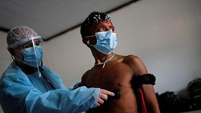 Brasil sobrepasa las 60.000 muertes con COVID-19 en cuatro meses de pandemia