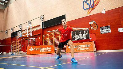 """Carolina Marín: """"2021 va a ser un año duro, difícil y bonito con los Juegos y el Mundial en Huelva"""""""