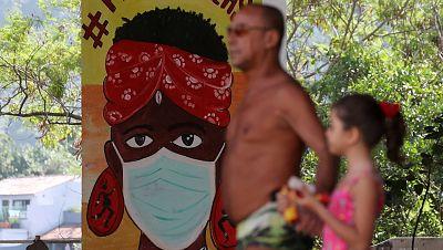 El coronavirus desborda América Latina, lastrada por la pobreza y la falta de recursos