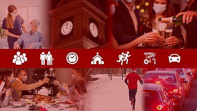 Las comunidades autónomas endurecen las restricciones para Nochevieja y Año Nuevo