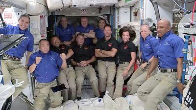 Culmina con éxito y algún susto el viaje de la misión Crew-2 a la Estación Espacial Internacional