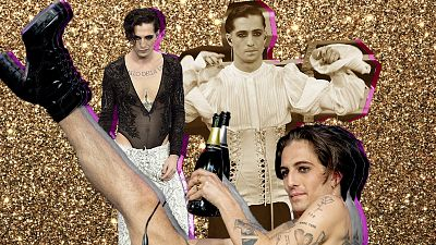 Damiano David, líder de Måneskin, y el estilo 'glam' que está dando que hablar: ¿icono queer o el hombre de siempre?