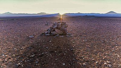 Descubren un calendario inca en el desierto chileno de Atacama