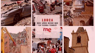 """Diez años de los terremotos de Lorca: """"La ciudad no ha vuelto a ser la misma"""""""