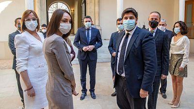 Los diputados disidentes de Ciudadanos toman posesión de sus cargos y se incorporan al Gobierno murciano