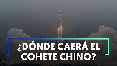 ¿Dónde caerán los restos del cohete chino que viaja sin control?  La incógnita que tiene a medio mundo en vilo