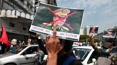 """El jefe del Ejército de Birmania justifica el """"inevitable"""" golpe de estado por el """"fraude electoral"""" de noviembre"""