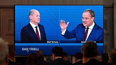 El SPD adelanta a la CDU en una campaña electoral personalista a la sombra de Merkel