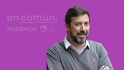 Antón Gómez-Reino, el candidato de Iglesias en Galicia pone a prueba su liderazgo