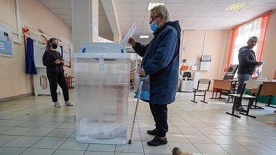 Elecciones regionales en Rusia con el envenenamiento del opositor Navalny como telón de fondo