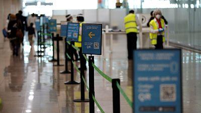 """España exige desde este lunes una PCR negativa a viajeros de hasta 65 países: """"Ha sido un trámite rápido y sencillo"""""""