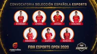 La selección española de NBA 2K debuta en el 'FIBA eSports Open'