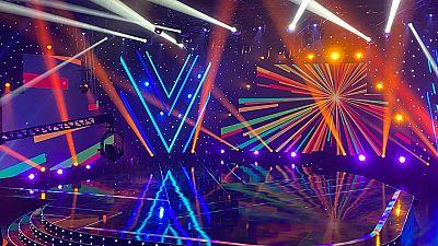 """Así es el escenario de 'Destino Eurovisión' en el que Blas Cantó interpretará """"Memoria"""" y """"Voy a quedarme"""""""