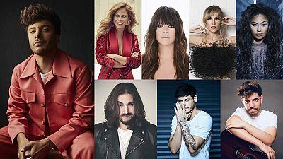 """Pastora Soler, Vanesa Martín, Edurne, Nia, Andrés Suárez, Cepeda y Roi cantarán con Blas Cantó en """"Destino Eurovisión"""""""