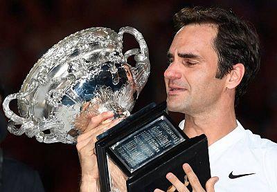 Federer logra su sexto Abierto de Australia, el 20º del Grand Slam