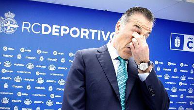"Fernando Vidal: ""Vamos a denunciar a LaLiga, no nos consideramos un equipo descendido"""