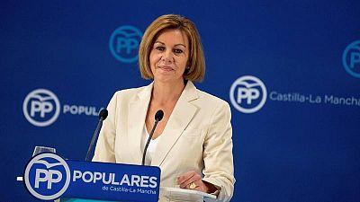 """La Fiscalía considera que Cospedal tenía """"interés personal"""" en la operación de espionaje a Bárcenas"""