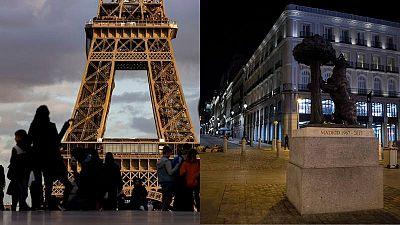 Francia y España, estrategias divergentes para olas en paralelo de la COVID-19