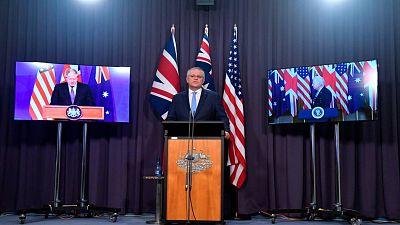 Indignación en Francia por el acuerdo de seguridad entre EE.UU., Reino Unido y Australia