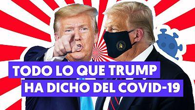 """Las frases más polémicas de Trump sobre la COVID-19: de inyectar """"desinfectante"""" al """"desaparecerá con el calor"""""""