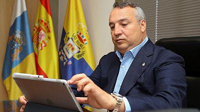 """Presidente de la UD Las Palmas: """"Habrá más garantías en un estadio que en una calle concurrida"""""""