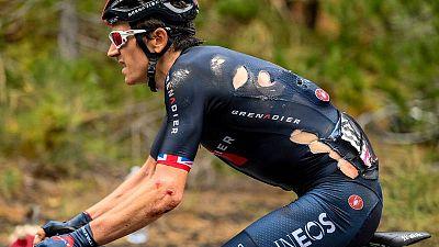 El galés Geraint Thomas (Ineos) abandona el Giro de Italia 2020