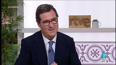 """Antonio Garamendi: """"Si les coses es normalitzen, benvinguts siguin els indults"""""""