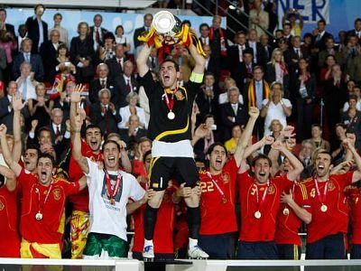 La generación de oro del fútbol español toca cumbre