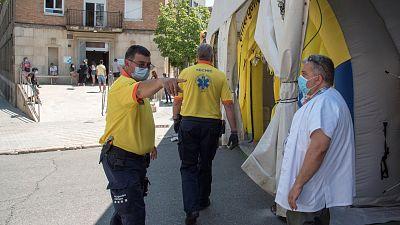 La Generalitat confina en sus casas a la población de Lleida y de otros siete municipios para frenar el brote del Segrià