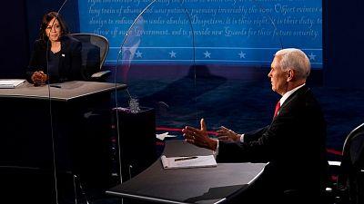 La gestión de la pandemia domina un moderado debate vicepresidencial entre Pence y Harris