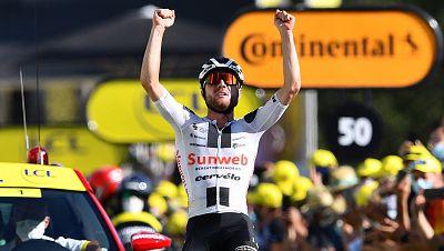 Hirschi consigue la victoria que perseguía en su primer Tour de Francia