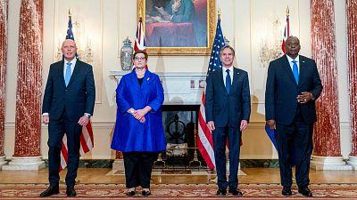 Estados Unidos, Australia y Reino Unido anuncian un histórico pacto de seguridad frente a China