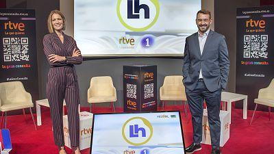 'La Hora de La 1' abre nueva etapa desde el 6 de septiembre con Marc Sala y Silvia Intxaurrondo